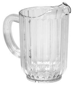 Royal ROY 5700 Clear Plastic 60 Oz. Pitcher