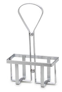 Royal ROY 600 R 2-Hole Chrome-Plated Rack For Square Cruets