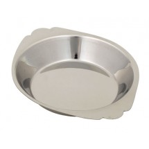 Royal ROY ARSS 809 Round Stainless Steel Au Gratin Dish 8 oz.