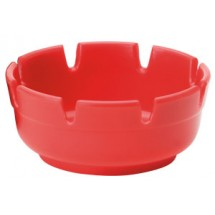 Royal ROY ASH 263 RED Plastic Ashtray - 1 doz