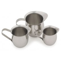 Royal ROY BE 5 Stainless Steel 5 Oz. Bell Shape Creamer