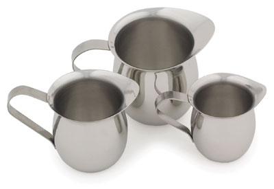 Royal ROY BE 8 Stainless Steel Bell Creamer 8 oz.