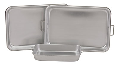 "Royal ROY BP 1117 Aluminum Bake Pan with Handles 11"" x 17"""