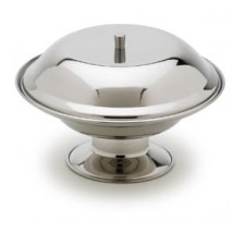 Royal ROY CA 75 A Stainless Steel Compote Base 7-3/8""