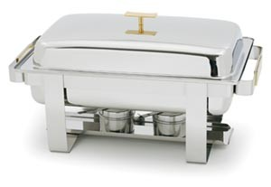 Royal ROY COH 41 Oblong Stainless Steel Chafer 8 Qt.