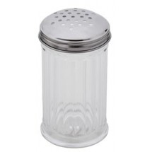 Royal ROY CS 12 Stainless Steel Perforated Shaker / Pourer 12 oz. - 1 doz