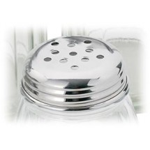 Royal ROY CS 6 PL Stainless Steel Perforated Replacement Lid 6 oz. - 1 doz