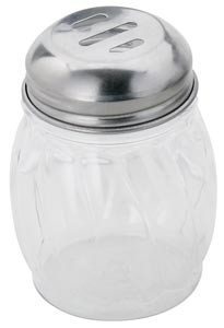 Royal ROY CS P 6 S Plastic Slotted Shaker / Pourer 6 oz. - 1 doz