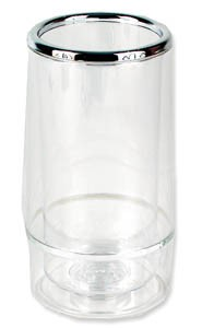 Royal ROY CWC Double Walled Acrylic Wine Bottle Holder