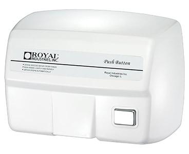 Royal ROY DRY 2200ES Push Button Hand Dryer