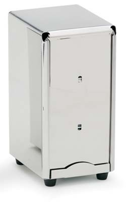 Royal ROY DSP NAP HY Tall Stainless Steel Napkin Dispenser