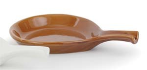 Royal ROY FP 20 C Caramel Ceramic Fry Pan 18 oz. - 1 doz
