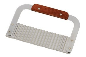 Royal ROY GR 230 Stainless Steel Serrator with Wood Handle