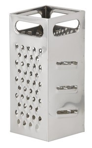 "Royal ROY GR 77 Heavy Duty Box Grater 4"" x 4"""