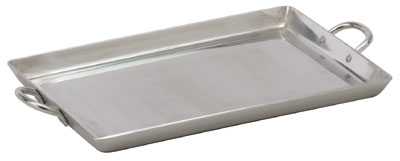 "Royal ROY GRID 19 Heavy Weight Aluminum Griddle with Handles 19"" x 15"""