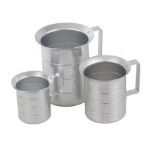 Royal ROY MEAS 1/2 Aluminum Liquid Measure 1/2 Qt.