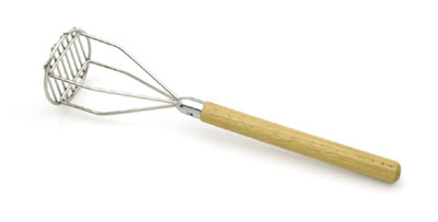 """Royal ROY PM RD 24 Chrome Plated Potato Masher With Round Head 24"""""""