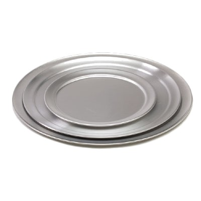 "Royal ROY PT 6 Aluminum Wide Rimmed Pizza Tray 6"" (1 piece only)"