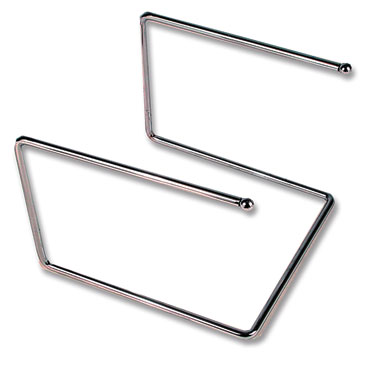 Royal ROY PTS 12127 Chrome Plated Pizza Tray Stand