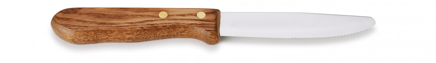 Royal ROY RSK 4 Steak Knife with Wood Handle 5""