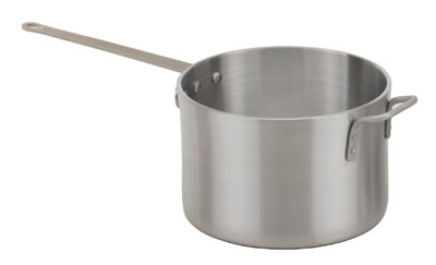 Royal ROY RSP 2 H Heavy Weight Aluminum Stock Pot with Cover 2-1/2 Qt.