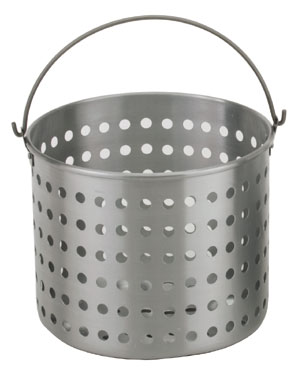 Royal ROY RSPT 30 B 30 Qt. Perforated Aluminum Steamer Basket