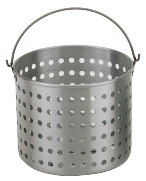 Royal ROY RSPT 80 B Perforated Aluminum Steamer Basket 80 Qt.