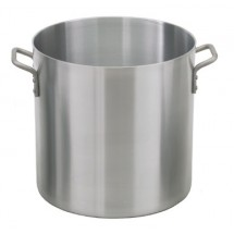 Royal ROY RSPT 80 H Heavy Weight Aluminum 80 Qt. Stock Pot with Stainless Steel Cover