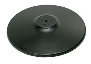 Royal ROY RTB 17 RB Round Powder Coated Cast Iron Table Base 17""