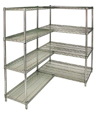 "Royal ROY S 2430 Z Polycoated Zinc Wire Shelf 24"" x 30"""