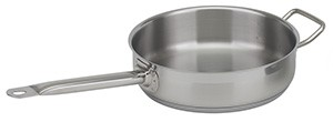 Royal ROY SAUTE S 5 Heavy Weight Aluminum 5 Qt. Shallow Saute Pan with Hollow Handle