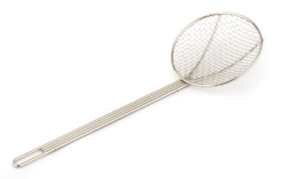 Royal ROY SKIM WG 7 Stainless Steel Round Coarse Mesh Skimmer 7""