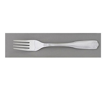 Royal ROY SLVSS DF Stainless Steel Sea Shell Dinner Fork - 1 doz