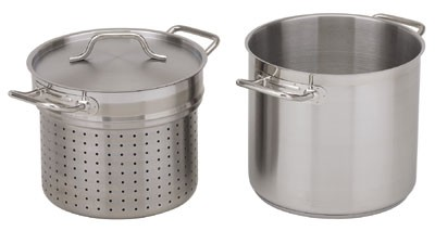 Royal ROY SS 205 12 Stainless Steel Induction-Ready Pasta Cooker 12 Qt.