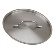 "Royal ROY SS CVR 26 Stainless Steel Stock Pot Cover 10.2"" Dia."