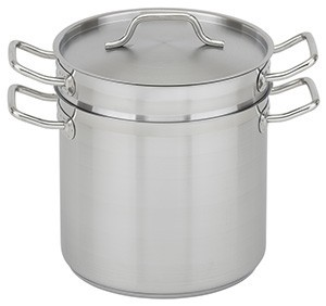 Royal ROY SS DB 12 Stainless Steel Double Boiler 12 Qt.
