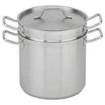 Royal ROY SS DB 16 Stainless Steel Double Boiler 16 Qt.