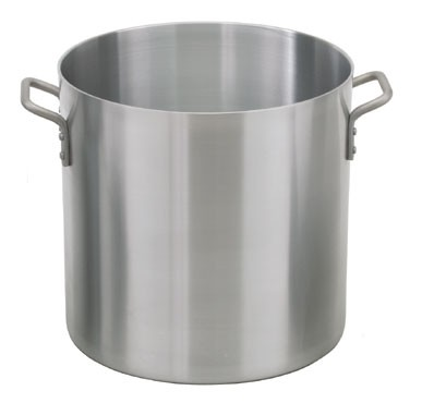 Royal ROY SS RSPT 80 Stainless Steel Induction Ready Stock Pot with Cover 80 Qt.