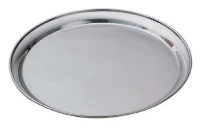 Royal ROY ST 14 Round Stainless Steel Service Tray 14""