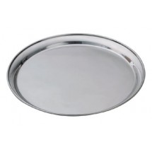 Royal ROY ST 16 Round Stainless Steel Service Tray 16""