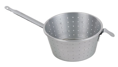 Royal ROY STRAIN 10 Aluminum Perforated Spaghetti Strainer 10""