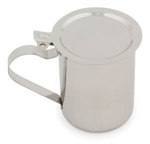 Royal ROY TS 461 Stainless Steel Stacking Creamer Server 10 oz.
