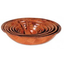 Royal ROY WWB 6 Woven Wood Salad Bowl 6""
