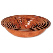 Royal ROY WWB 8 Woven Wood Salad Bowl 8""