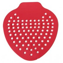 Royal URN SCRN D Red Urinal Screen with Embedded Deodorant