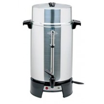 Royal WB 33600 Aluminum 40 to 100 Cup West Bend Institutional Percolator