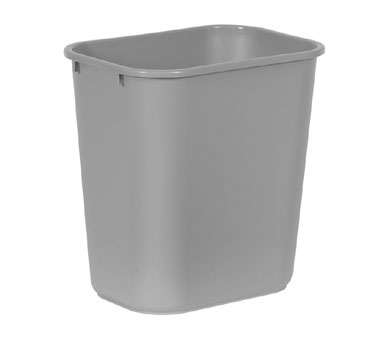 Rubbermaid FG295600GRAY 28-1/8 Qt.Waste Basket