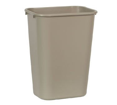 Rubbermaid FG295700BEIG 41-1/4 Qt.Waste Basket