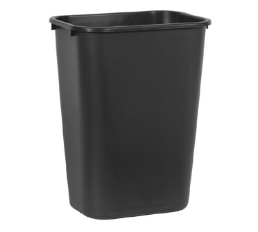 Rubbermaid FG295700BLA 41-1/4 Qt.Waste Basket