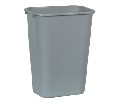 Rubbermaid FG295700GRAY 41-1/4 Qt.Waste Basket